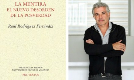 """La mentida i els seus parents, en el llibre """"Máscaras de la mentira"""" de Raúl Rodríguez, es presenta hui en la Seu Ciutat d'Alacant de la UA"""
