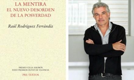 La mentira y sus parientes, en el libro «Máscaras de la mentira» de Raúl Rodríguez, que se presenta hoy en la Sede Ciudad de Alicante de la UA