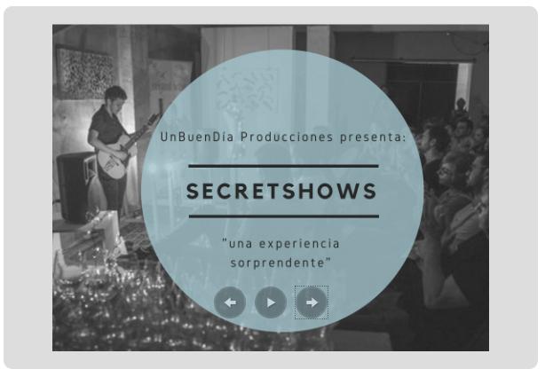 SecretShow en Alicante el 16 de Junio