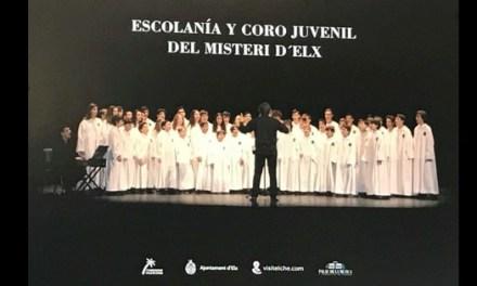 """""""Las voces del coro"""" actúan hoy en Valencia y el domingo en la Plaza del Congreso Eucarístico"""