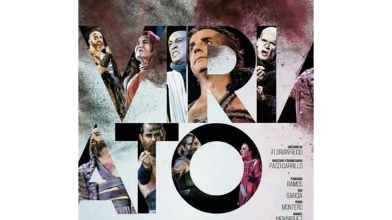 Viriato, de Florián Recio y Coriolano después de William Shakespeare en el Festival de Teatro Clásico de La Alcudia