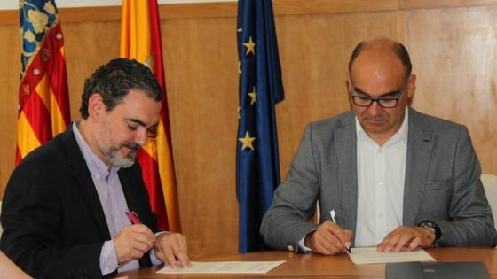La Universidad de Alicante y el Festival de Cine de L'Alfàs del Pi acuerdan la difusión conjunta del Festival y de las actividades culturales y cinematográficas de la UA