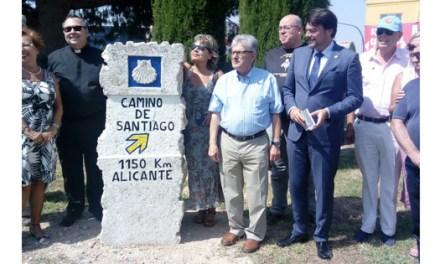L'Ajuntament d'Alacant acorda millores en la senyalització del Camí de Santiago que parteix des de la Basílica de Santa María