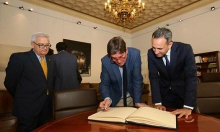 Recepció de directors i directores de l'Institut Cervantes