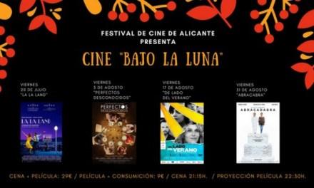 """El Festival de Cine de Alicante promueve el ciclo """"Cine Bajo la Luna"""""""