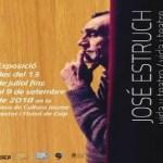 La Casa de Cultura de Calp acoge la exposición itinerante del Instituto Gil-Albert sobre la figura del dramaturgo José Estruch