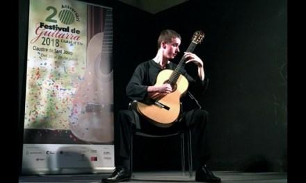 """Robin Meys demostró su gran sensibilidad en la apertura del Festival de Guitarra """"Ciutat d'Elx"""""""