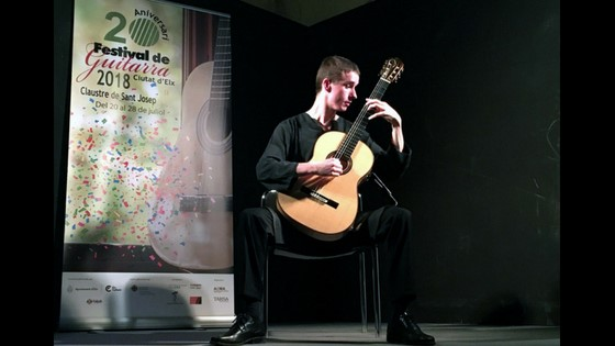 """Robin Meys va demostrar la seua gran sensibilitat en l'obertura del Festival de Guitarra """"Ciutat d'Elx"""""""