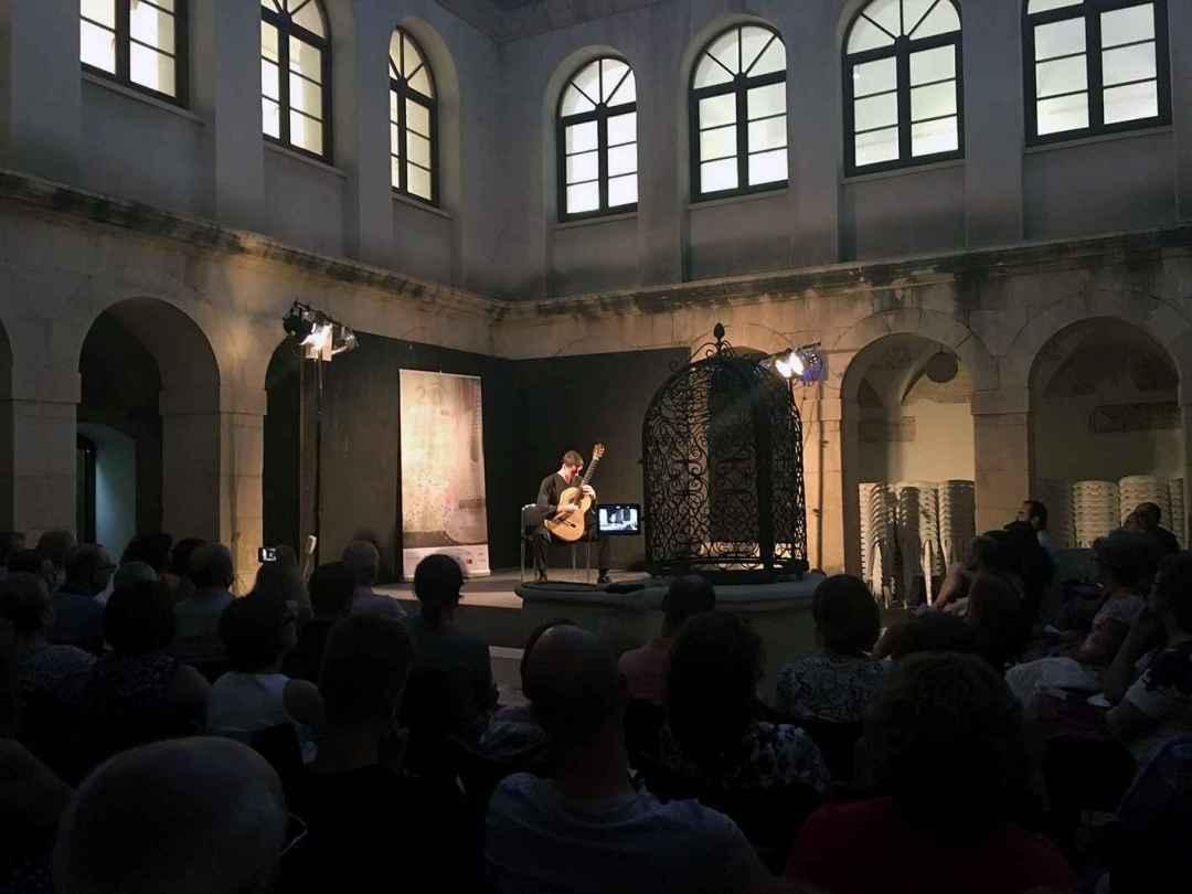 Actuació Robin Mays. Foto: Gabinet Premsa. Festival Guitarra Ciutat Elx
