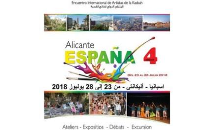 La IV Trobada Internacional d'Artistes de la Kasbah a Alacant en marxa