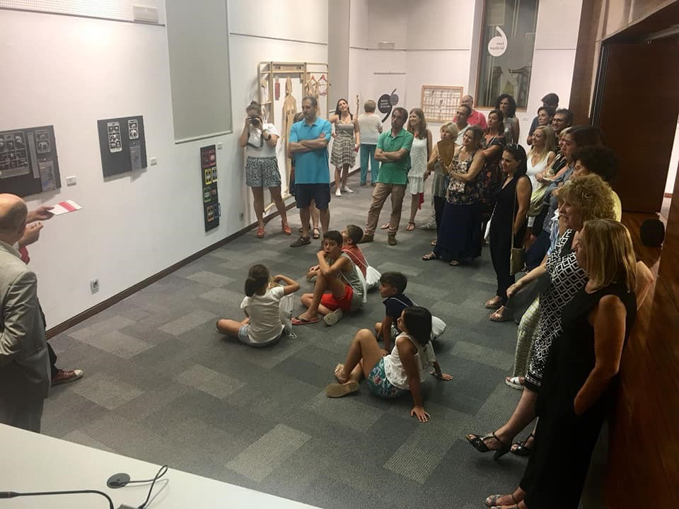 Visita guiada Exposición Inversión Matricial. IAC Gil-Albert. Foto: Gabinete Prensa. Ayto Alicante