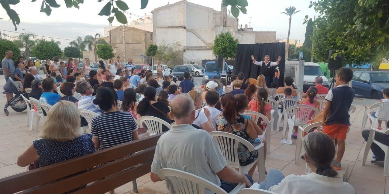 Cine y teatro en la oferta infantil de este verano en Sant Joan