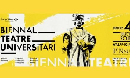 L'Aula de Teatre de la Universitat d'Alacant participa en la I Biennal de teatre de la Xarxa Vives
