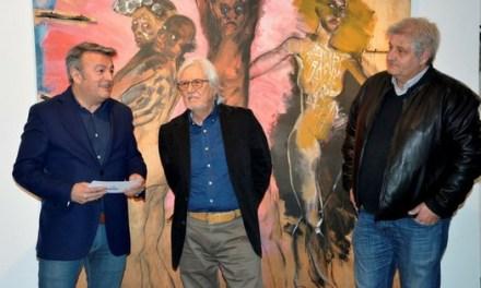 """Tomás Ruíz i José Vicente Serra """"Miero"""", premis 9 d'octubre Vila de Xàbia 2018"""