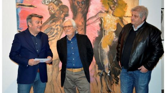 """Tomás Ruíz y José Vicente Serra """"Miero"""", premios 9 d'octubre Vila de Xàbia 2018"""