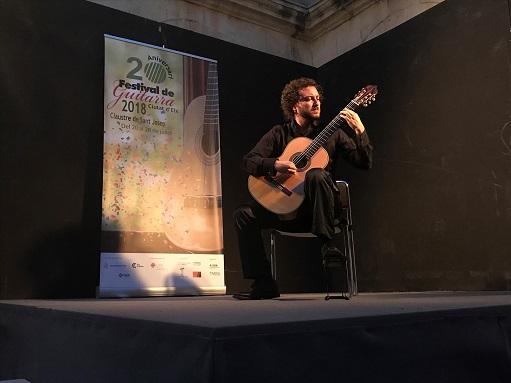 """L'italià Marque Piperno aconsegueix el primer premi del XVI Concurs Internacional de Guitarra """"Ciutat d'Elx"""""""