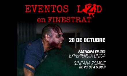 La Concejalía de Juventud de Finestrat organiza una terrorífica gincana zombi para la noche del 20 de octubre como antesala de Halloween