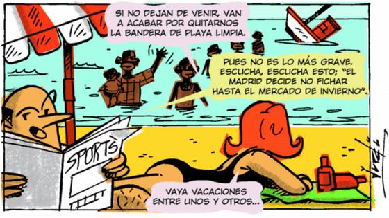 Melchor Mombo, Viñeta #16 LOBLANC