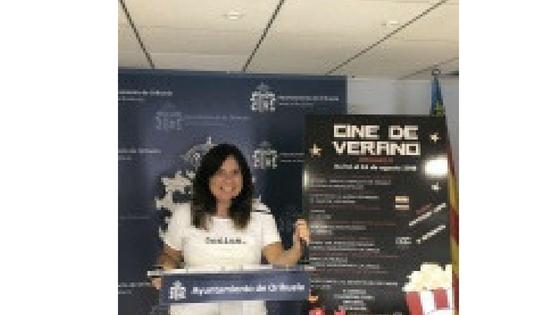 Un nueva edición del Cine de Verano en Orihuela