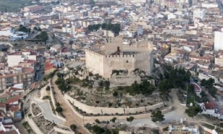 Els mosaics del castell de Petrer restaurats i al descobert