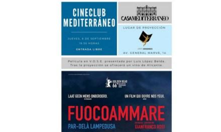 Cinema Club Mediterrani al setembre en la llibreria 80 Mundos