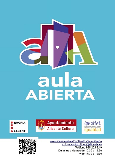 La 31ª edición de Aula Abierta en marcha: un programa cultural de encuentro y convivencia intergeneracional e intercultural