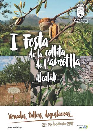 Alcalalí celebra la «I Festa de la Collita de l'Ametlla»