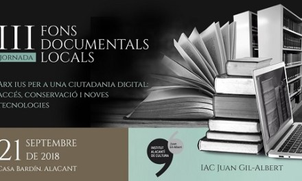 El director del Archivo Histórico Nacional inaugura en el Instituto Juan Gil-Albert una jornada sobre digitalización de fondos