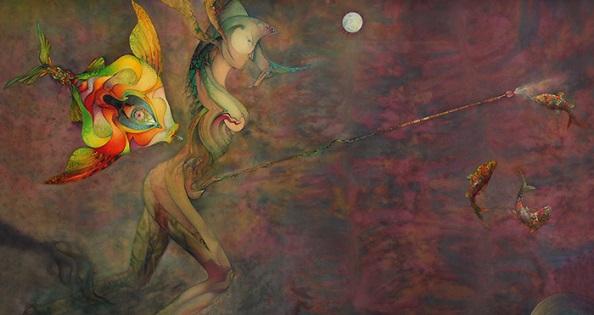 El MUA inaugura l'exposició antològica «Els mons i els éssers imaginaris de Daniel Escolano»