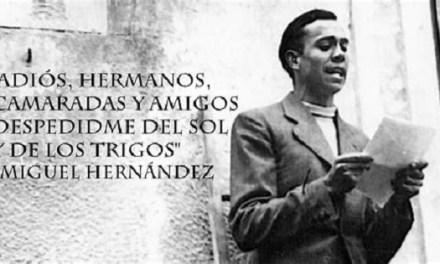 Primer curso on-line sobre el poeta Miguel Hernádez en la Universidad de Murcia