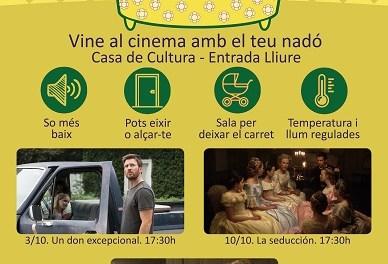 """La concejalía de Cultura de Sant Joan y la UA retoman la """"Sesión Teta"""", sesiones de cine para madres lactantes y padres sensibles"""