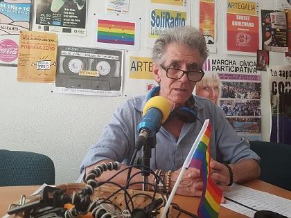 Solament sis preguntes a Toni Magro mentre exposa en l'Ateneu d'Alacant
