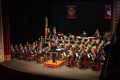 Banda Muncipal de Villena. Foto: Teatro Chapi