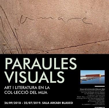 El MUA funde el arte y la literatura en su nueva exposición «Palabras visuales»