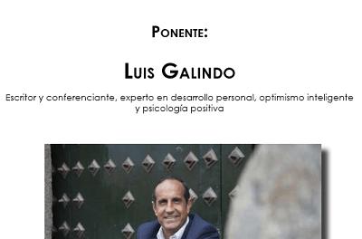 """La Seu Universitària i l'Ajuntament de Torrevieja ofereixen la conferència """"Una dosis de ilusión"""", a càrrec de l'escriptor Luis Galindo"""