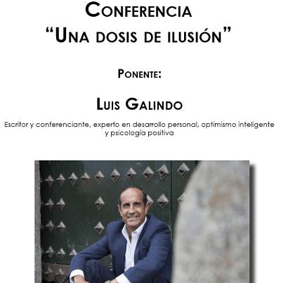 La Sede Universitaria y el Ayuntamiento de Torrevieja ofrecen la conferencia «Una dosis de ilusión», a cargo del escritor Luis Galindo