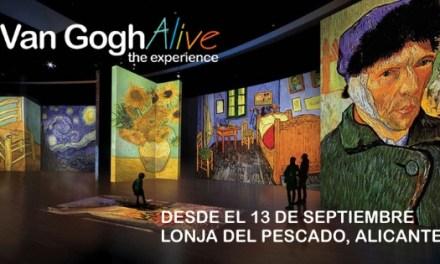 El genio de Van Gogh cobra vida en Alicante
