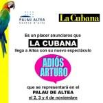 """La Compañía LA CUBANA llega a Altea con """"Adiós Arturo"""""""