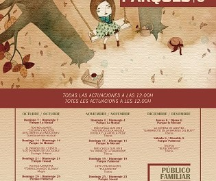 """Proposta cultural per a les famílies amb """"Tardor en Parcs"""" a Alacant"""