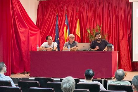 Conferència de l'historiador Vicent Baydal a Callosa d'en Sarrià sobre l'autogovern valencià