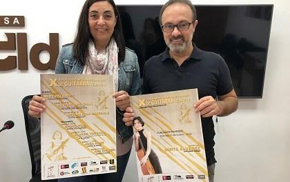 L'Ajuntament d'Elda presenta les X Jornades Internacionals de Guitarra de la ciutat