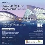 La concejalía de residentes de otras nacionalidades de Finestrat organiza una visita a la Ciudad de las Artes y las Ciencias de Valencia