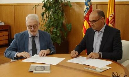 Acord de col·laboració entre la Fundació Caja Mediterráneo i la Fundació Biblioteca Virtual Miguel de Cervantes