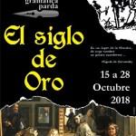 """III Quincena Cultural de Gramática Parda """"EL SIGLO DE ORO"""" en Elda"""