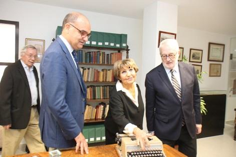 Germà Bernàcer torna la Facultat de Ciències Econòmiques de la Universitat d'Alacant