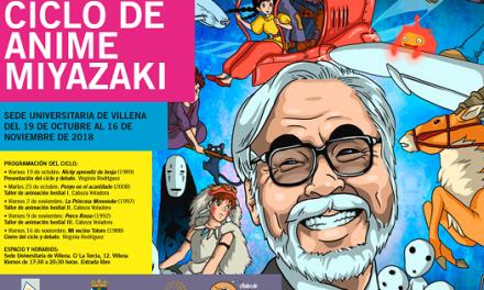 El cine de Miyazaki, el maestro de la animación japonesa, llega a Villena