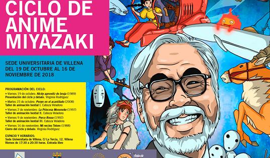 El cinema de Miyazaki, el mestre de l'animació japonesa, arriba a la Seu de Villena