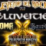 Eluveitie, Koma y Saurom, nuevas confirmaciones de Leyendas del Rock 2019 en Villena