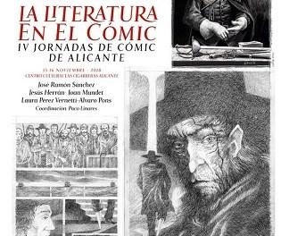"Alacant Cultura presenta ""La Literatura en el Còmic"" en Las Cigarreras"