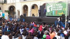 Plaça del Llibre 2016. Foto: Gabinete de Prensa Ayto. Alicante